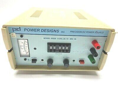 Power Designs 5020a Precision Dc Power Source 0-25v
