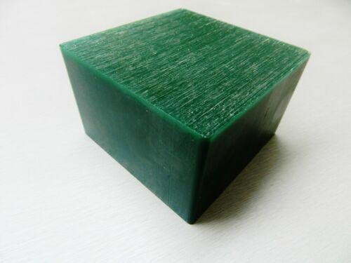 Green Carving Wax Ferris File-A-Wax Block DSB-5 1 Pound Square Bar