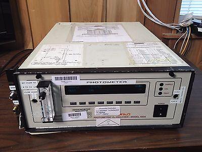 Api Teledyne Photometric O3 Analyzer Model 400a 64555 13714i32