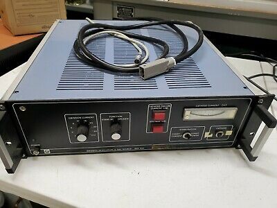 Used Leybold Heraeus Emission Regulation X-ray Source 865 920 - We2