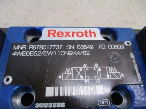 REXROTH SOLENOID DIRECTIONAL VALVE #828935G NEW- NO BOX