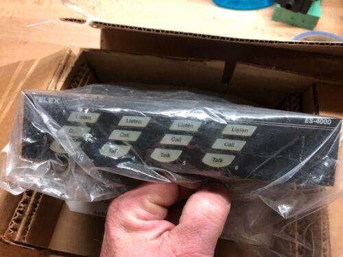 Telex ES-4000 INTERCOM SYSTEM--NEW IN BOX