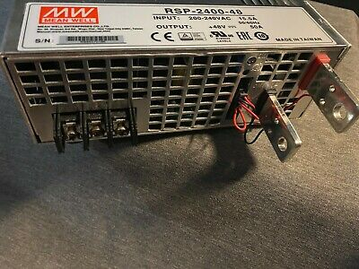 Mean Well Rsp-2400-48 Power Supply Ac-dc 48v 50a Meanwell Authentic