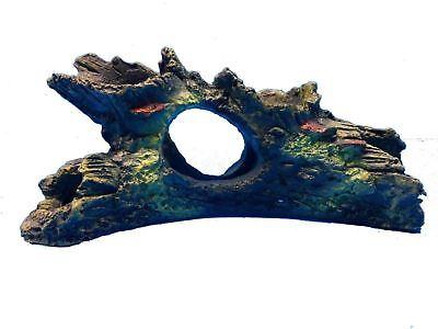 TREE BRANCH SM HOLLOW LOG 8820E REPLICA AQUARIUM DECOR FISH TANK RESIN ORNAMENT