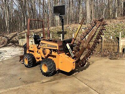 Case 360 Trencher Dozer Plow