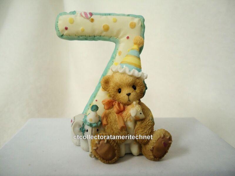 Cherished Teddies Teddies To Cherish Number Age 7 2004 NEW