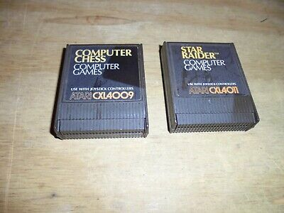 Star Raiders and computer chess (Atari 400/800/XL/XE tested and working