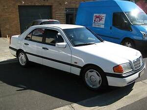 1995 MERCEDES-BENZ C180 ESPRIT SUNROOF/SERVICE BOOKS REG 4/17 RWC Heidelberg Heights Banyule Area Preview