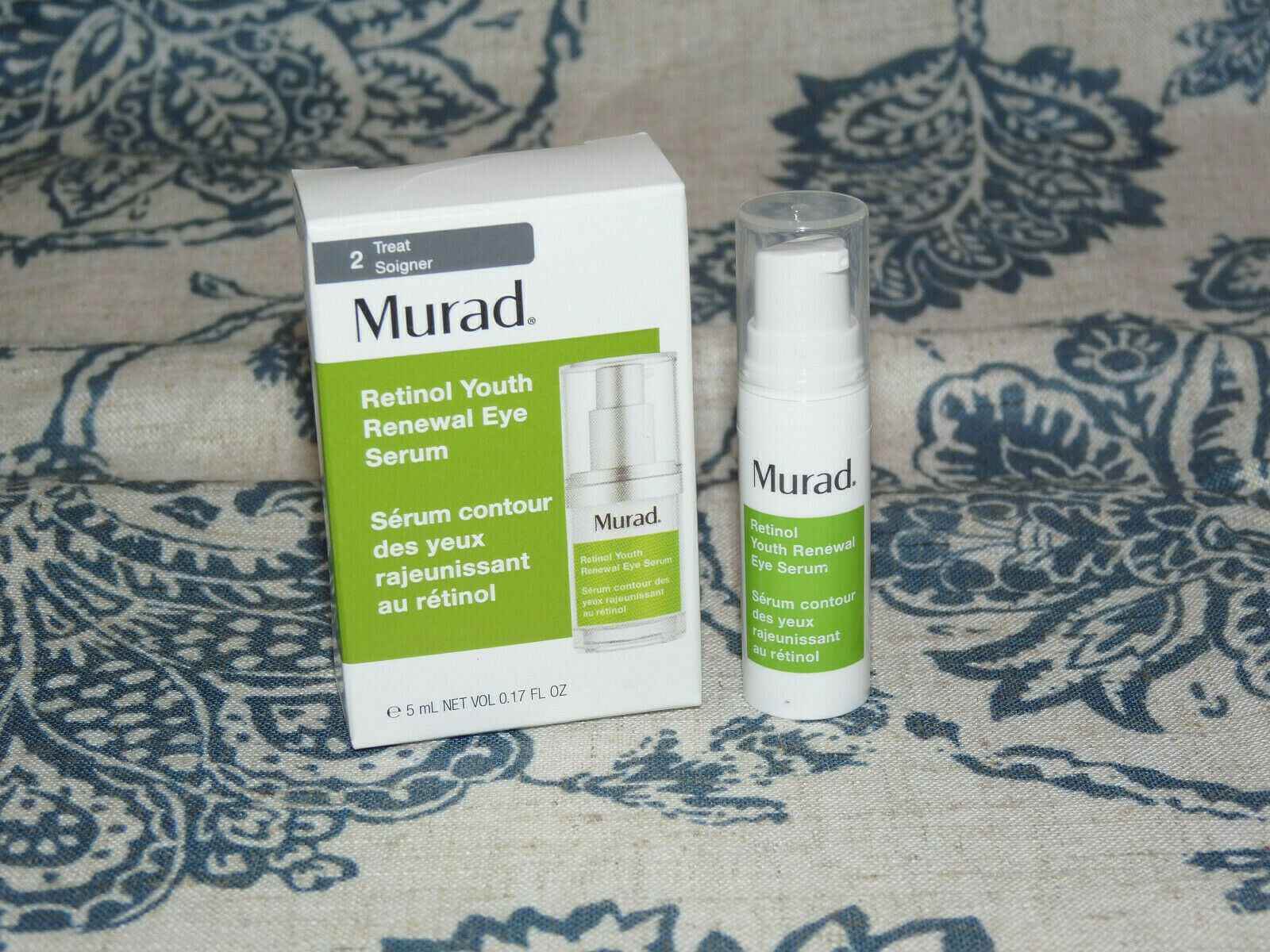 Murad Resurgence Retinol Youth Renewal EYE Serum Lines/Wrink