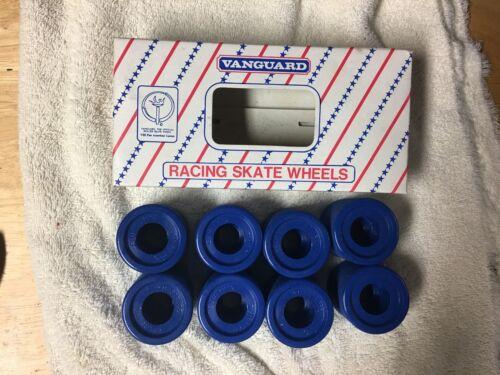 Vanguard Vintage NOS Blue Spruce Quad Roller Skate Wheels Converted/Precision