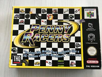 PENNY RACER NINTENDO 64 N64 PAL CIB MULTI