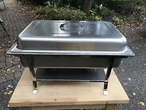 "Chafing dish - restaurant size 22"" long 4 available"