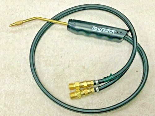 """Mag Torch, Brazing Welding Torch Kit, 45"""" Length, Hose """"B"""" 9/16"""" Connections"""