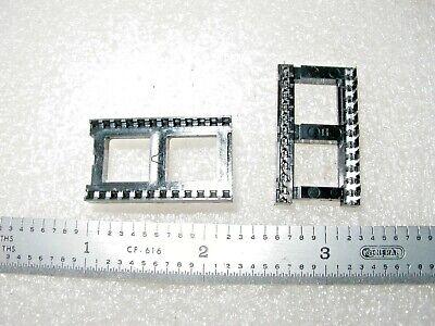 224-ag29d Augat Tyco 24 Pin X .6 Pc Ic Sockets - 20 Pcs
