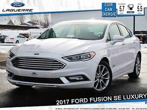 2017 Ford Fusion Energi SE LUXURY ENERGIE **CUIR*CAM*SONAR**