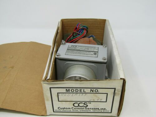 NIB CCS PRESSURE SWITCH 646GEA137 NEW IN BOX FREE SHIPPING