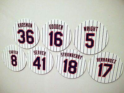 New York Mets Magnets - Koosman Gooden Wright Carter Seaver