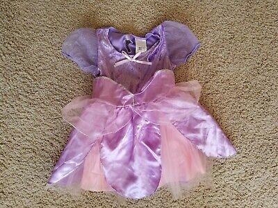 Girls Purple Pixie Fairy Princess Costume Size 4 - 6 - Fairy Girls