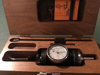 Blake Co-ax Indicator In Vintage Wood Box