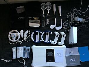 Nintendo Wii Console and WiiFit Board + Games and Peripherals Fullarton Unley Area Preview