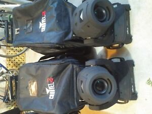 Chauvet Intimspot 355IRC and carry bags