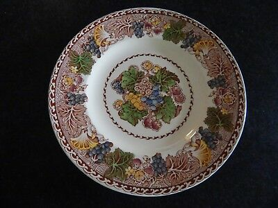 "WOODS BURSLEM ENGLAND HYDE PATTERN DINNER PLATE EXCELLENT COND 10""  3 available"