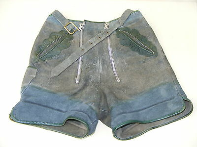 Beautiful Old Children Leather Trousers Big 146