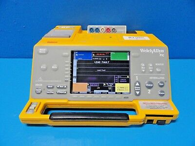Welch Allyn 971084e Pic Portable Intensive Careecg Spo2 Co2 Ibp Tmonitor17077