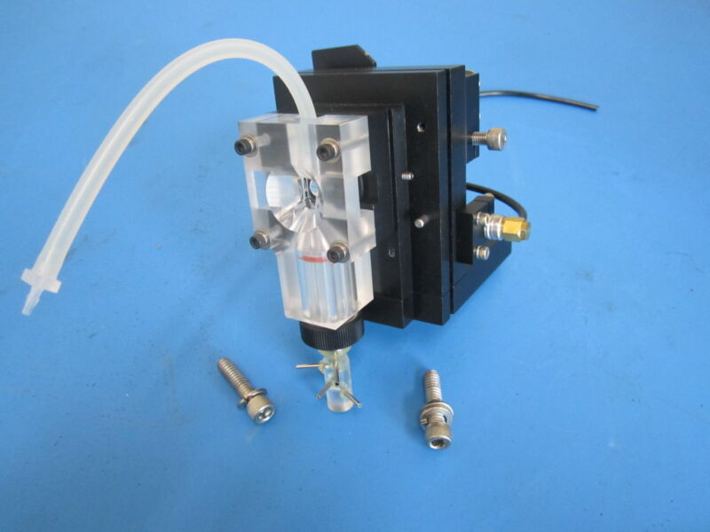 Lab Laser Assembly Magnification and Gas Introduction Stage