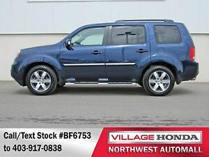 2013 Honda Pilot Touring 4WD | Loaded | Navi | Leather | Sunroof