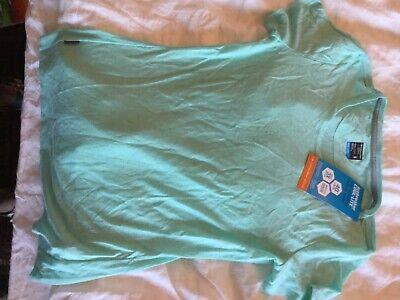 Icebreaker cool-lite merino turquoise women's under tshirt