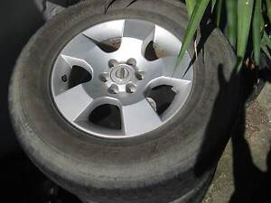 Nissan Navara wheels Beenleigh Logan Area Preview