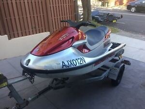 1999 Yamaha 1200 gp waverunner jet ski and trailer $2500