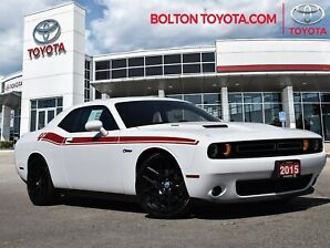 2015 Dodge Challenger R/T HEMI|LOW KMS|RED INTERIOR|LAUNCH CONTROL