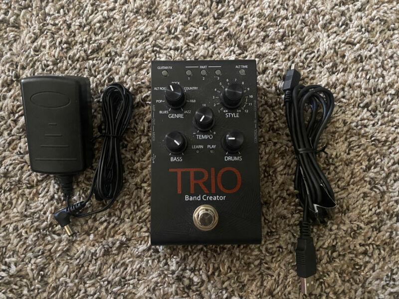 DigiTech TRIO Band Creator Guitar Effect Pedal TRIO-V-01