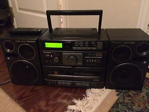 Panasonic RX-DT690 Stereo Boombox ONE OF THE BEST