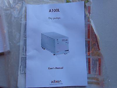 Alcatel A100l Dry Pump User Manual