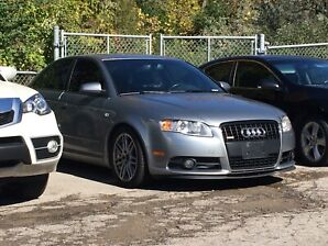 2007 Audi A4 s-line titanium package trade for boat