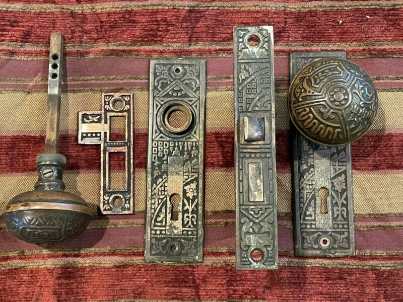 passage door knobs set