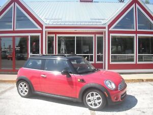 2013 MINI COOPER PANORAMIC SUNROOF HEATED LEATHER AIR CRUISE PW