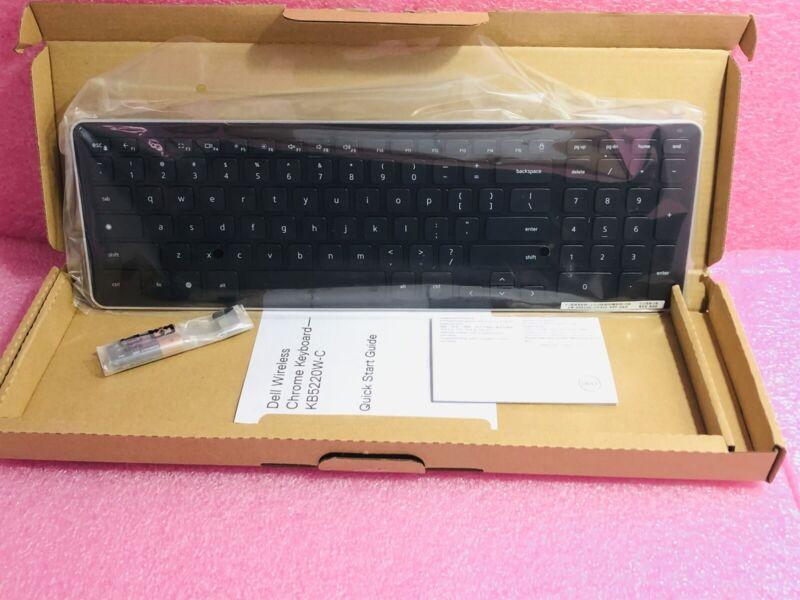 NEW GENUINE Dell KM713 Wireless Desktop PC US Keyboard Black 001GC