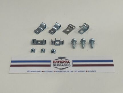 1964-67 mustang gas & brake line clip set new Reservoir Darebin Area Preview