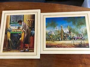 PAINTINGS....SELECTION OF 11 PRINTS