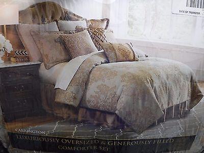 Veratex Carrington Queen Bed Comforter Set Shams Bedskirt New