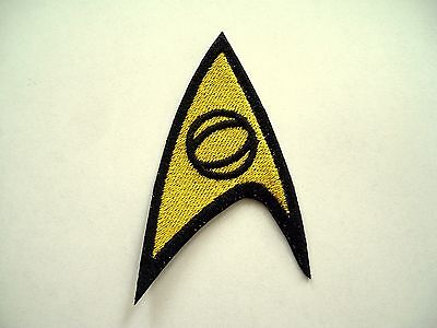 Star Trek TOS Science Emblem Embroidered Patch, Enterprise, badge, federation