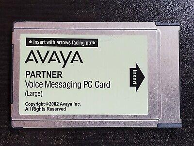 Avaya Lucent Att Partner Acs Voice Messaging Pc Card Large 700226525