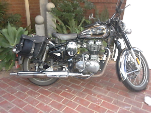 Royal enfield c5 classic chrome Lynbrook Casey Area Preview