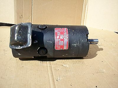 Industrial Drives Dc Servo Motor Tt-2933-3024-b1 Serial No. 89c69-4.