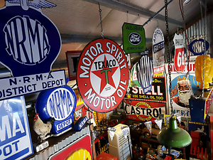 Wanted to buy petrol pumps old signs, pedal car. Tamworth Tamworth City Preview