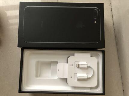 IPhone 7 Plus, 128 GB, Jet Black colour under warranty